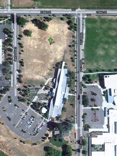Google satellite view